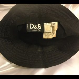 Dolce & Gabbana Accessories - Bucket hat D&G Dolce & Gabbana